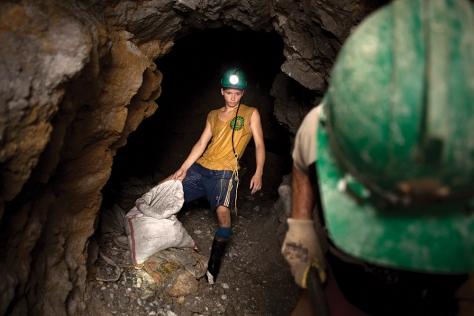 Gold mining in Antioquia