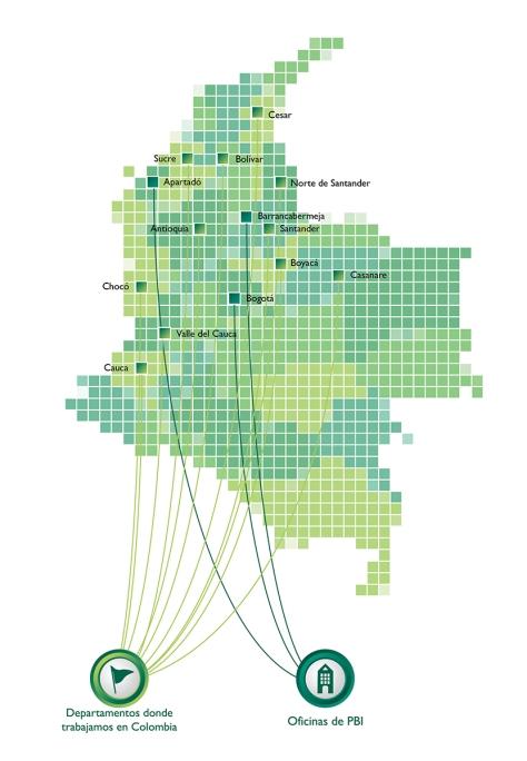 mapa PBI